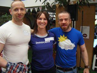 Chris, Helen, Mark